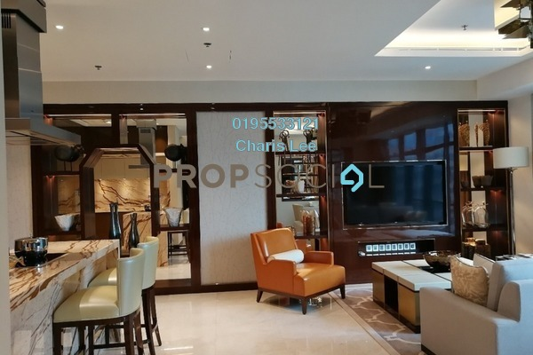 For Sale Serviced Residence at The Ritz-Carlton Residences, KLCC Freehold Semi Furnished 1R/1B 3.72m