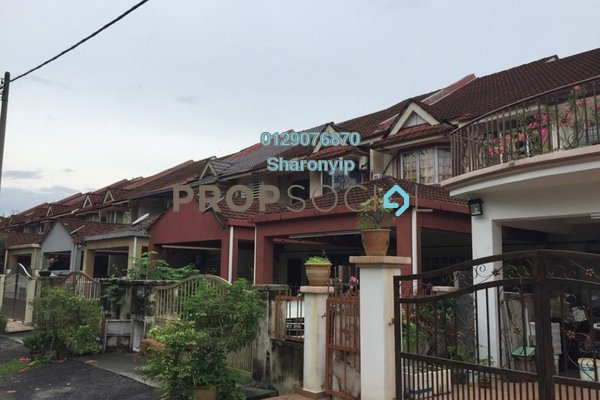 For Sale Terrace at Taman Bukit Permai, Bandar Mahkota Cheras Freehold Semi Furnished 4R/3B 750k