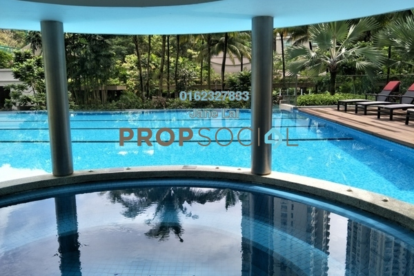 For Sale Condominium at Kiaramas Danai, Mont Kiara Freehold Semi Furnished 2R/2B 1.5m