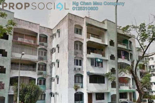 For Sale Condominium at Delima J Apartment, Desa Pandan Freehold Semi Furnished 0R/0B 288k