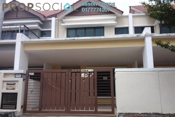 For Sale Terrace at Palmyra Residences, Balik Pulau Freehold Unfurnished 4R/3B 540Ribu