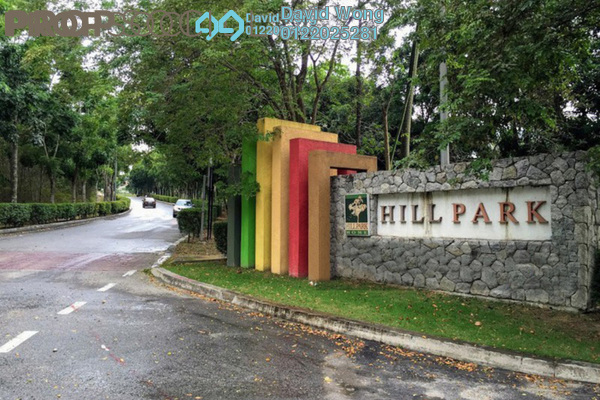 For Rent Terrace at Hillpark, Semenyih Freehold Unfurnished 4R/3B 1.2k