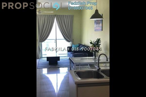 For Rent Condominium at Solaris Dutamas, Dutamas Freehold Fully Furnished 1R/1B 3k