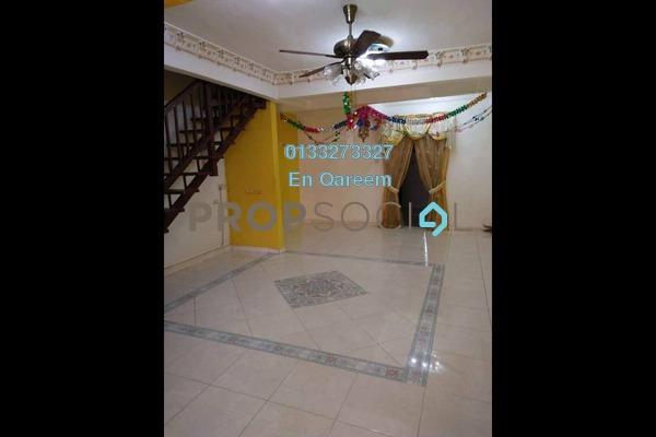 For Sale Terrace at Taman Samudera Flat, Batu Caves Freehold Semi Furnished 3R/3B 599k