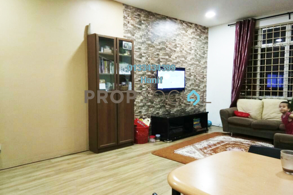 For Sale Apartment at Merdeka Villa, Ampang Leasehold Unfurnished 3R/2B 300k