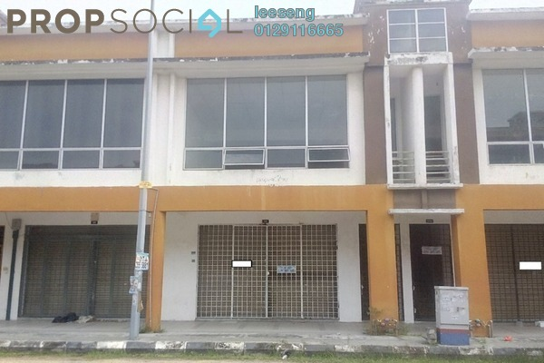 For Sale Shop at Taman Aman Perdana, Meru Freehold Unfurnished 0R/6B 849k