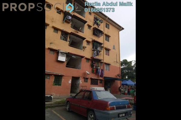 For Sale Apartment at Taman Bayu Perdana, Klang Freehold Unfurnished 3R/1B 90k