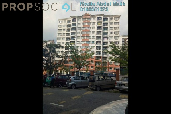 For Sale Apartment at Kenanga Apartment, Pusat Bandar Puchong Freehold Unfurnished 3R/2B 340k