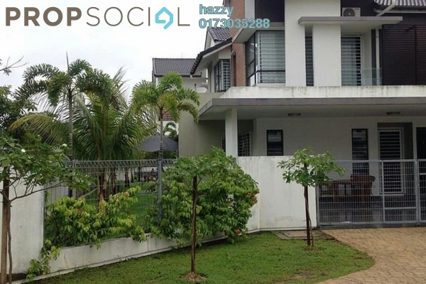 For Rent Semi-Detached at Mulberry Grove, Denai Alam Freehold Fully Furnished 5R/4B 4k