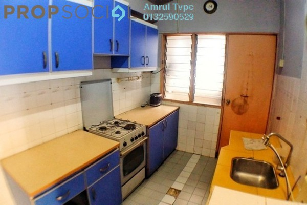 For Sale Apartment at Teratai Mewah Apartment, Setapak Freehold Semi Furnished 3R/2B 359k