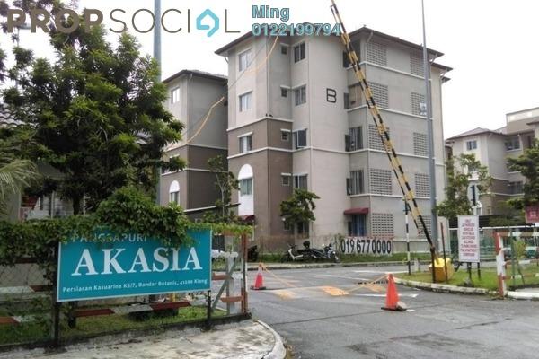 For Sale Apartment at Bandar Botanic, Klang Freehold Unfurnished 3R/2B 250k