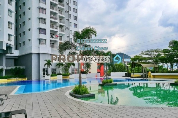 For Sale Condominium at Symphony Heights, Selayang Leasehold Unfurnished 3R/2B 255k