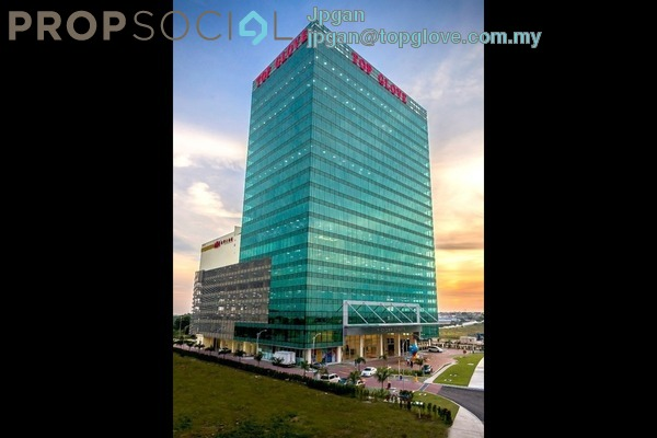 For Rent Office at Top Glove Tower, Setia Alam Freehold Semi Furnished 0R/0B 5.03k