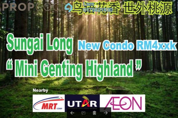 For Sale Condominium at Iris Residence, Bandar Sungai Long Freehold Unfurnished 3R/2B 442k