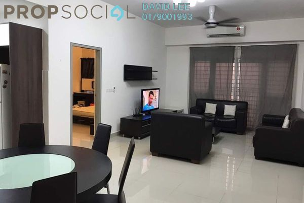 For Rent Condominium at The Wharf, Puchong Freehold Fully Furnished 4R/2B 1.8k