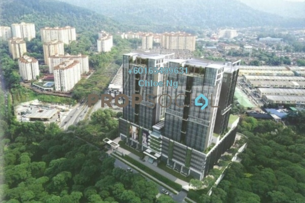 For Sale Condominium at Amanja, Kepong Freehold Semi Furnished 3R/2B 570k