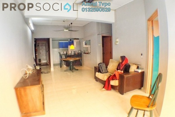 For Rent Apartment at Teratai Mewah Apartment, Setapak Freehold Fully Furnished 3R/2B 1.3k