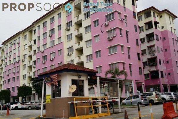 For Sale Apartment at Salvia Apartment, Kota Damansara Leasehold Unfurnished 3R/2B 320k