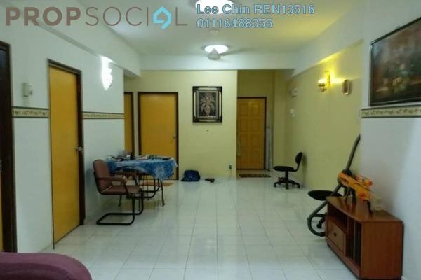 For Sale Condominium at Endah Ria, Sri Petaling Freehold Semi Furnished 3R/2B 395k