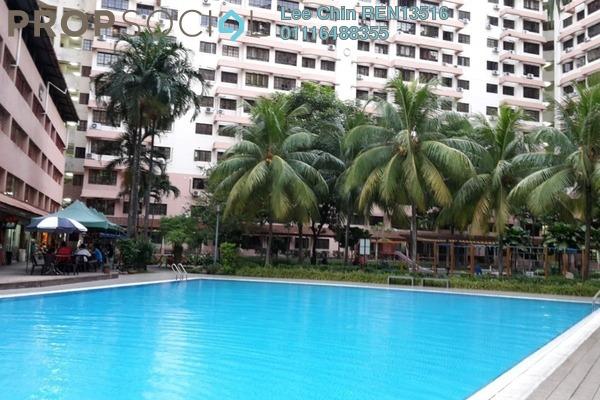 For Sale Condominium at Bayu Tasik 1, Bandar Sri Permaisuri Freehold Semi Furnished 3R/2B 380k