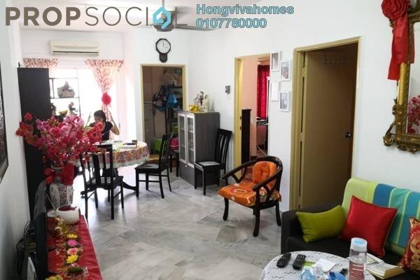 For Sale Condominium at Teratai Mewah Apartment, Setapak Freehold Fully Furnished 3R/1B 238k