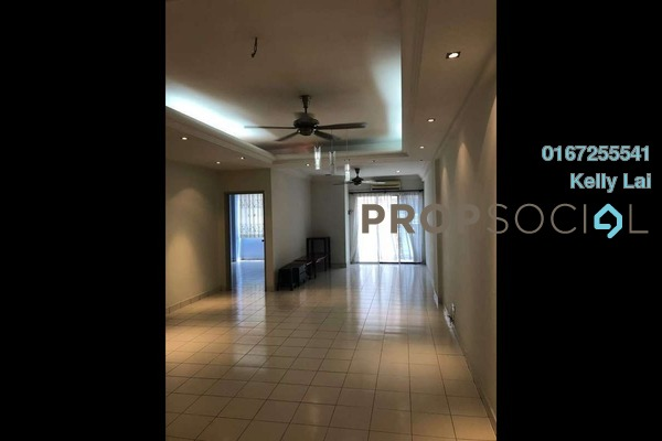 For Rent Condominium at Fortune Avenue, Kepong Freehold Semi Furnished 3R/2B 1.5k