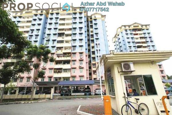 For Sale Apartment at Cheras Utama Apartment, Cheras South Leasehold Unfurnished 3R/2B 250.0千