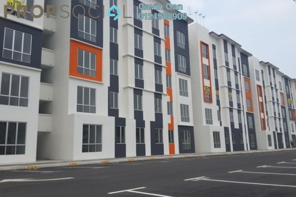 For Rent Apartment at Orchis Apartment, Klang Freehold Semi Furnished 3R/2B 1k