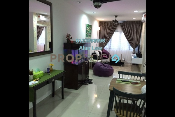 For Rent Serviced Residence at Hedgeford 10 Residences, Wangsa Maju Freehold Fully Furnished 1R/1B 1.6k