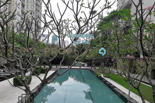 For Sale Condominium at Hijauan Kiara, Mont Kiara Freehold Semi Furnished 4R/5B 2.3m