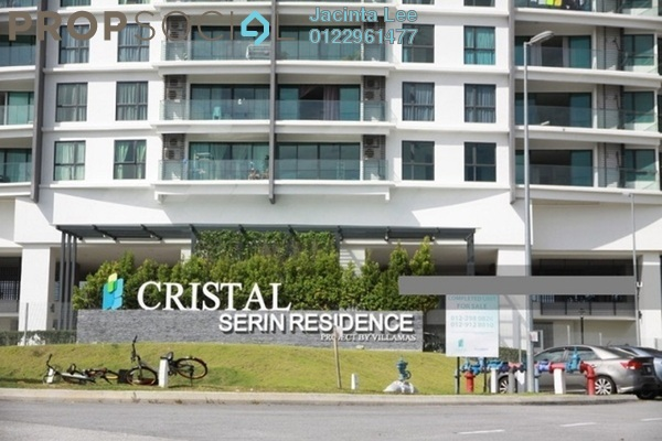 For Sale Serviced Residence at Cristal Residence, Cyberjaya Freehold Semi Furnished 3R/3B 506k