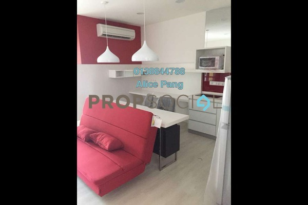 For Rent SoHo/Studio at Straits Garden, Jelutong Freehold Fully Furnished 1R/1B 1.8k
