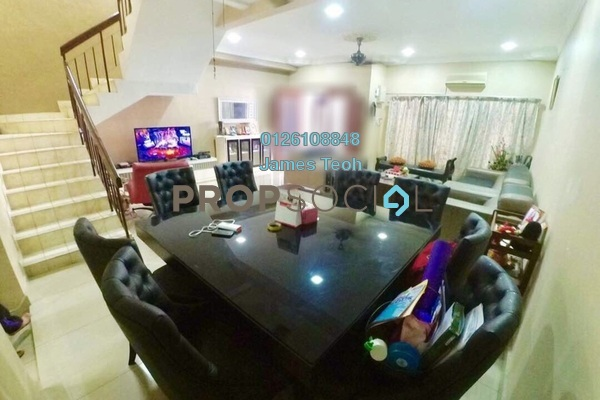 For Sale Terrace at Bandar Puteri Klang, Klang Freehold Semi Furnished 4R/3B 610k