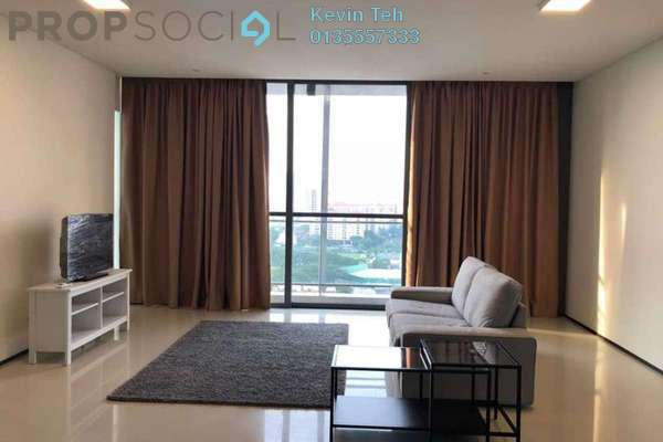 For Rent Condominium at The Fennel, Sentul Freehold Semi Furnished 4R/4B 2.95k