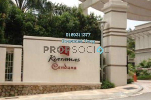 For Rent Condominium at Kiaramas Cendana, Mont Kiara Freehold Semi Furnished 4R/4B 6k