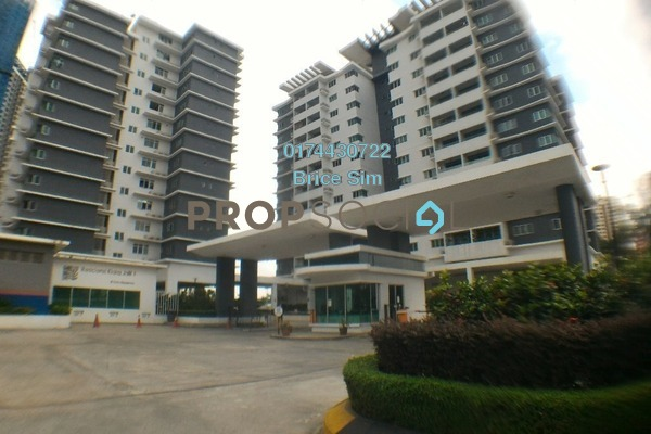 For Rent Condominium at Kiara Residence, Bukit Jalil Freehold Semi Furnished 3R/2B 1.45k