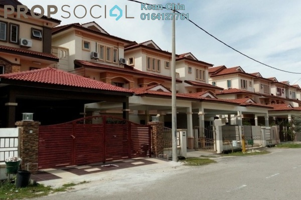 For Rent Terrace at Taman Sutera Prima, Seberang Jaya Freehold Semi Furnished 5R/4B 1.7k