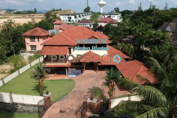 For Sale Bungalow at Saujana Impian, Kajang Freehold Fully Furnished 6R/7B 2.4m