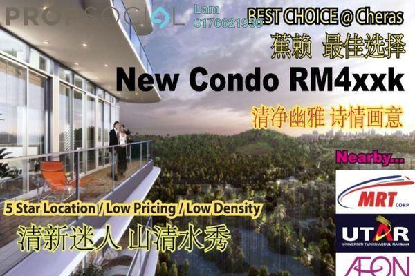 For Sale Condominium at Iris Residence, Bandar Sungai Long Freehold Unfurnished 3R/2B 441k