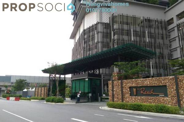 For Sale Condominium at The Reach @ Titiwangsa, Setapak Freehold Semi Furnished 4R/4B 948k