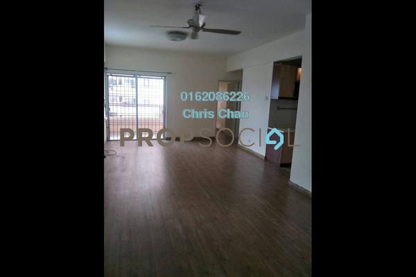 For Sale Condominium at Pelangi Damansara, Bandar Utama Freehold Semi Furnished 3R/2B 400k