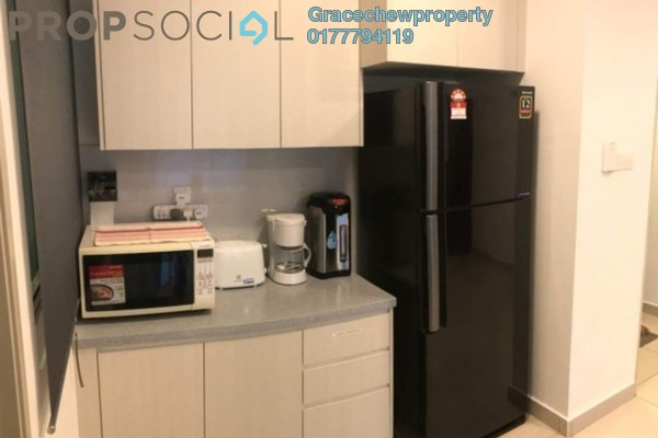 For Rent Condominium at The Aliff Residences, Johor Bahru Freehold Fully Furnished 2R/2B 2k