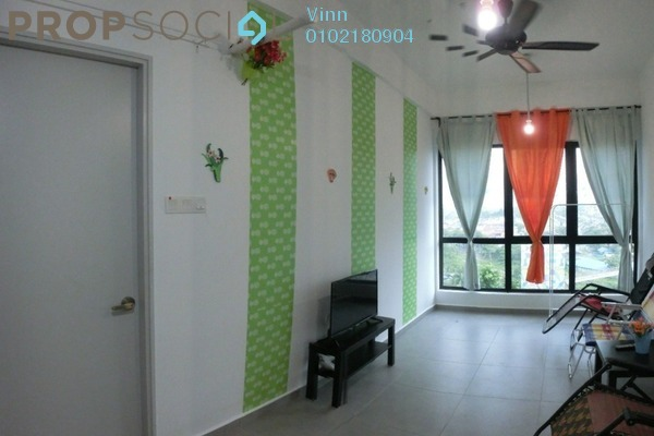 For Rent Condominium at D'Sands Residence, Old Klang Road Freehold Fully Furnished 2R/1B 1.8k