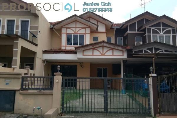 For Rent Terrace at Seksyen 16, Bandar Baru Bangi Freehold Semi Furnished 4R/3B 1.2k