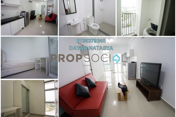 For Sale Serviced Residence at The Domain, Cyberjaya Freehold Semi Furnished 3R/1B 315k