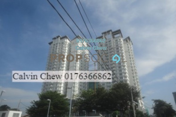 For Sale Condominium at 1Sentul, Sentul Freehold Unfurnished 3R/2B 513k