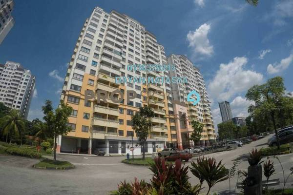 For Sale Apartment at Vista Millennium, Puchong Freehold Semi Furnished 3R/2B 290k