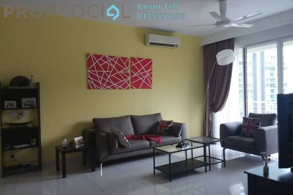 For Sale Condominium at Kiaramas Ayuria, Mont Kiara Freehold Fully Furnished 3R/3B 1.25m