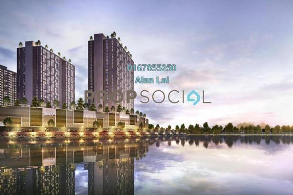 For Sale Condominium at The Arc, Cyberjaya Freehold Unfurnished 3R/2B 405k