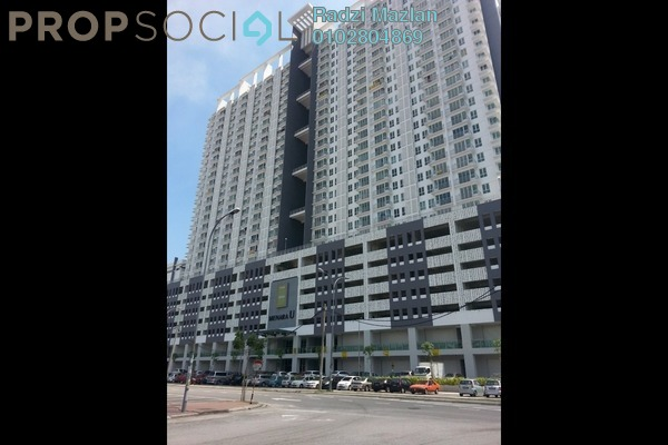 For Sale Condominium at Menara U, Shah Alam Freehold Semi Furnished 2R/1B 360k